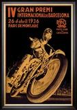 4th International Barcelona Grand Prix Posters