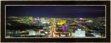 Skyline, Las Vegas, Nevada, USA Gerahmter Fotografie-Druck