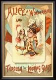 Alice in Wonderland and Through the Looking Glass Kunstdrucke