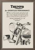 Triumph of Effortless Performance Kunstdruck