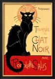 Tournee du Chat Noir Avec Rodolptte Salis Kunst von Théophile Alexandre Steinlen