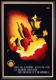 Vino de Espana Posters by Josep Renau Montoro