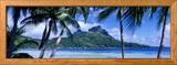 Bora Bora, Tahiti, Polynesia Innrammet fotografisk trykk av Panoramic Images,