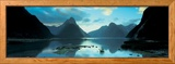 South Island, Milford Sound, New Zealand Framed Photographic Print by  Panoramic Images