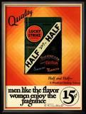 Lucky Strike, Cigarettes Smoking, USA, 1930 Poster