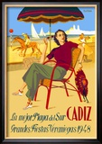 Cadiz, La Mejor Playa del Sur Kunstdrucke