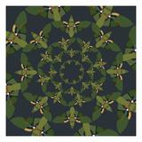 Skydiving Moths Giclee Print by Belen Mena