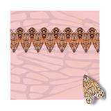 Pink Pacha in Line Giclée-Druck von Belen Mena