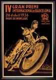 4th International Barcelona Grand Prix Kunstdrucke