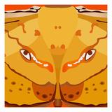 Dragon Eyes Giclée-Druck von Belen Mena