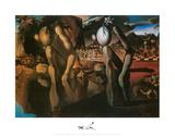 The Metamorphosis of Narcissus, c.1937 Schilderijen van Salvador Dalí
