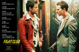 Fight Club Movie (Rules of Fight Club) Poster Print Pôsters