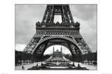 Eiffel Tower (Base) Art Poster Print Poster