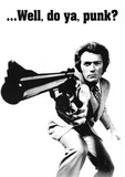 Clint Eastwood (Dirty Harry) Movie Poster Print