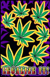 Legalize It Pot Marijuana Blacklight Poster Print Posters