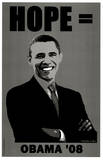 Barack Obama (Hope '08) Art Poster Print Mestertrykk