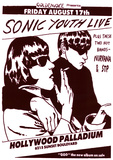 Vintage Sonic Youth NIRVANA STP Poster PICTURE Kunstdruck
