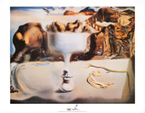 Fruit Dish Plakater av Salvador Dalí