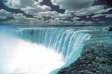 Niagara Falls (Color) Art Poster Print Posters