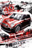 Rallye Monte Carlo (Automotive Race) Art Poster Print Affiche