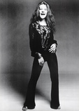 Janis Joplin Black and White Music Poster Print Posters