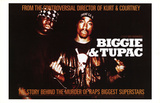 Biggie & Tupac (Rap) Movie Poster Impressão original