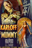 The Mummy Movie Boris Karloff, It Comes to Life Poster Print Láminas