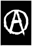 Anarchy (Logo) Art Poster Print Plakater