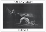 Joy Division Closer Music Poster Ian Curtis Plakater