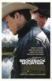 Brokeback Mountain Movie (Jake & Heath, Scenic Background) Poster Print Impressão original