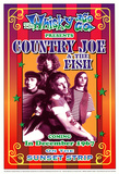 Country Joe and the Fish Whisky-A-Go-Go Los Angeles, c.1967 Plakater af Dennis Loren