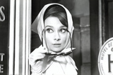Audrey Hepburn Movie (Scarf) Poster Print Julisteet
