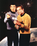 Star Trek Spock and Captain Kirk TV Poster Print Poster