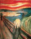 De schreeuw Poster van Edvard Munch