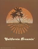 The Mamas and the Papas (California Dreamin' Lyrics) Music Poster Print Poster