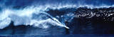 High Surf Surfing Big Wave Panorama Plakater