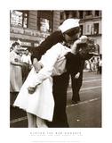 Kissing the War Goodbye (Times Square, New York City,, c.1945) Posters van Victor Jorgensen