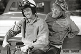 Dumb and Dumber Movie Harry and Lloyd on Scooter Poster Print Fotografia