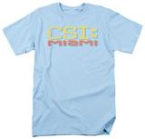 CSI Miami -Miami Distressed Logo Shirts