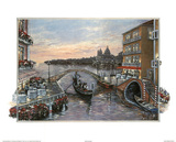 Jose (Evening in Venice 2) Art Print Poster Plakater
