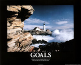 Goals (Lighthouse) Art Poster Print Prints