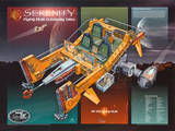 Firefly Serenity Flying Mule Cutaway View TV Poster Print Plakat