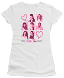 Juniors: The Real L Word - Hearts T-shirts