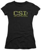 Juniors: CSI - Collage Logo Shirt