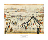 Children's Playground Posters by Laurence Stephen Lowry