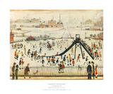 Children's Playground Láminas por Laurence Stephen Lowry