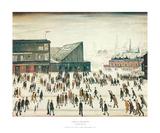 Going to the Match Kunst av Laurence Stephen Lowry