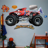 Brutus Monster Truck Wall Decal