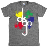 Ok Go - Tall Logo Splat Tシャツ