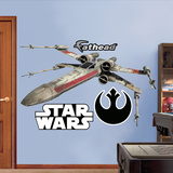 X-Wing Fighter (sticker murale) Decalcomania da muro